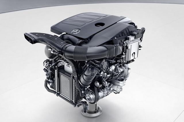 motore mercedes m264