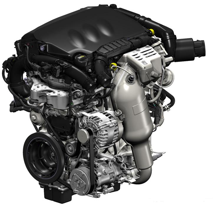 Citroen motore 3 cilindri THP