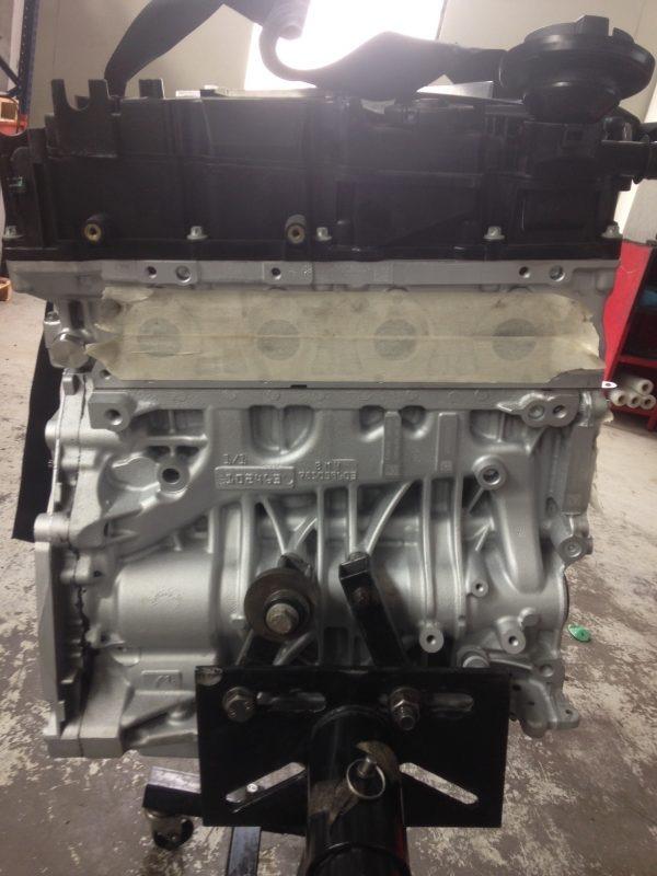 Motore revisionato n47d20c Bmw serie 1 2.0 Tdi 130Kw