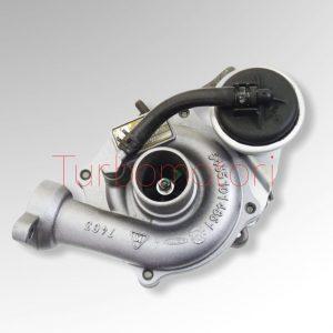 Turbo kkk Ford Fiesta VI / Fusion 1.4 TDCi codice 5435-970-0009