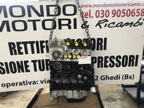 Motore revisionato a nuovo semicompleto Opel Astra 1.7 Tdi codice a17dtr