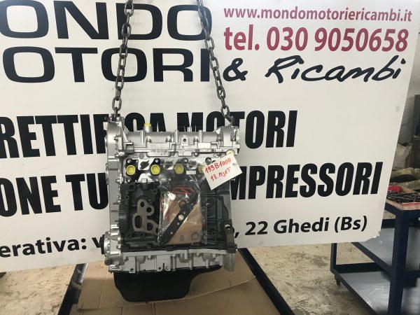 Motore revisionato a nuovo semicompleto Alfa Romeo/ Fiat/ Lancia 1.3 D codice motore 199b1000