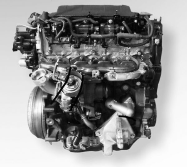 Motore usato Peugeot 3008 2.0 D codice motore rhh