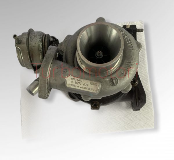 Turbo usato Garrett Opel Astra 779591-4
